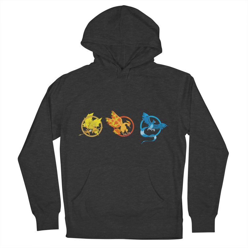 Hunger Games Catching Pokemon  Men's Pullover Hoody by VarieTeez Designs
