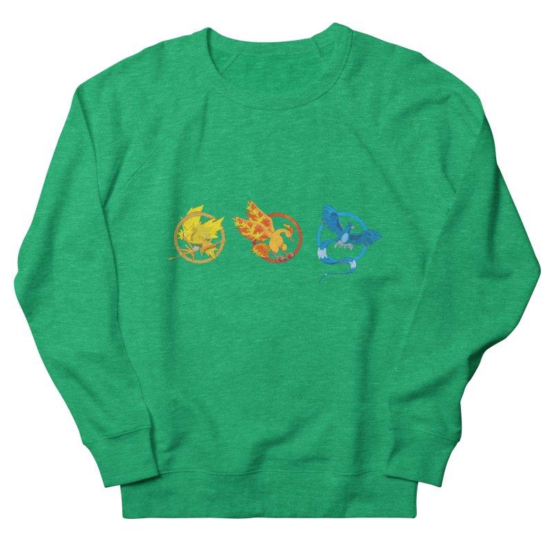 Hunger Games Catching Pokemon  Women's Sweatshirt by VarieTeez Designs