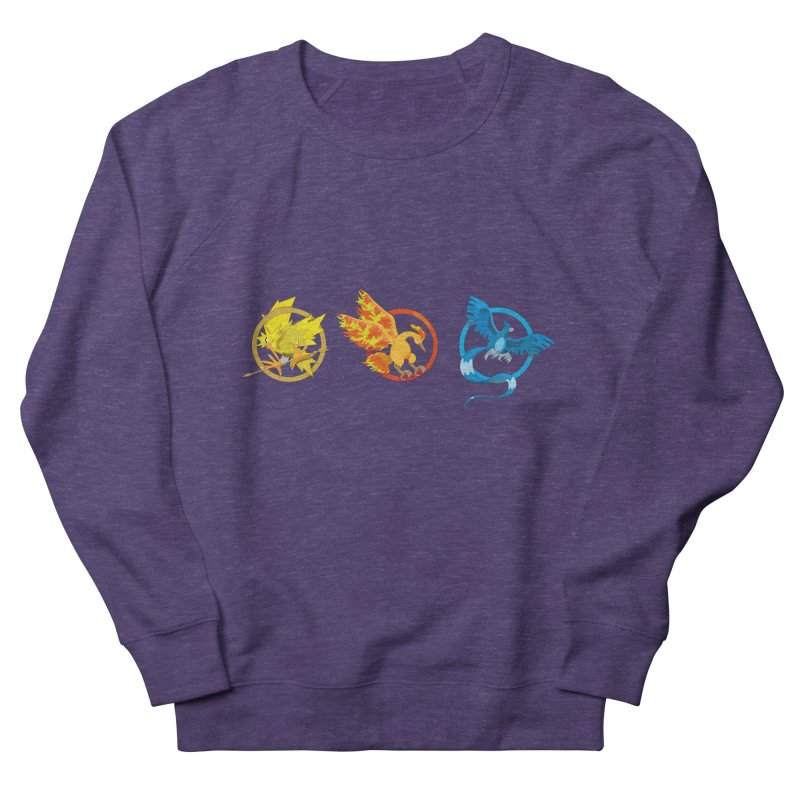 Hunger Games Catching Pokemon  Men's Sweatshirt by VarieTeez's Artist Shop