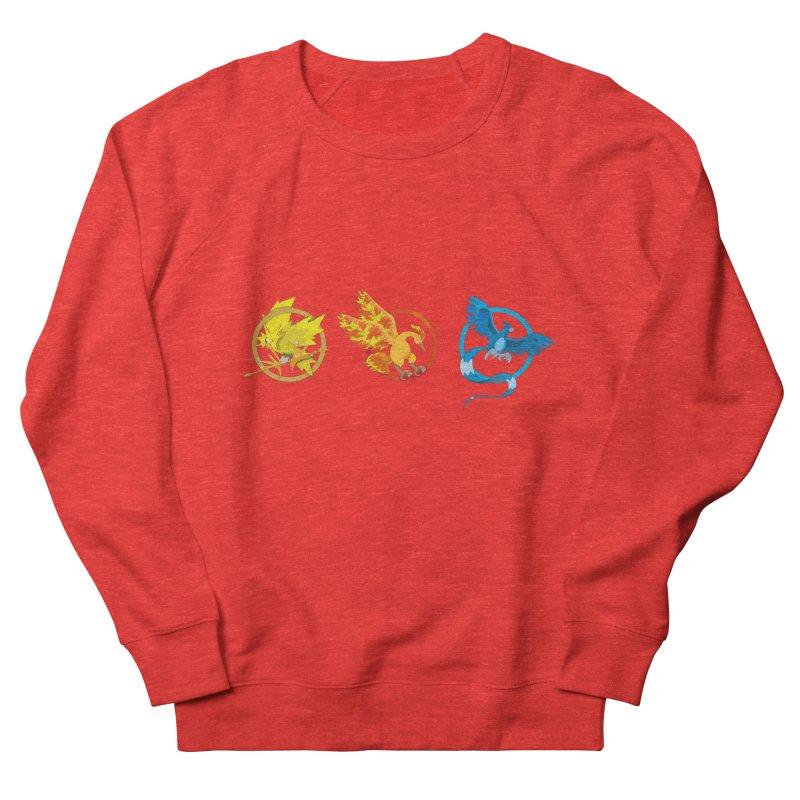 Hunger Games Catching Pokemon  Men's Sweatshirt by VarieTeez Designs