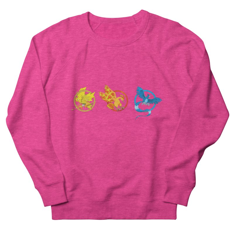 Hunger Games Catching Pokemon  Men's French Terry Sweatshirt by VarieTeez Designs
