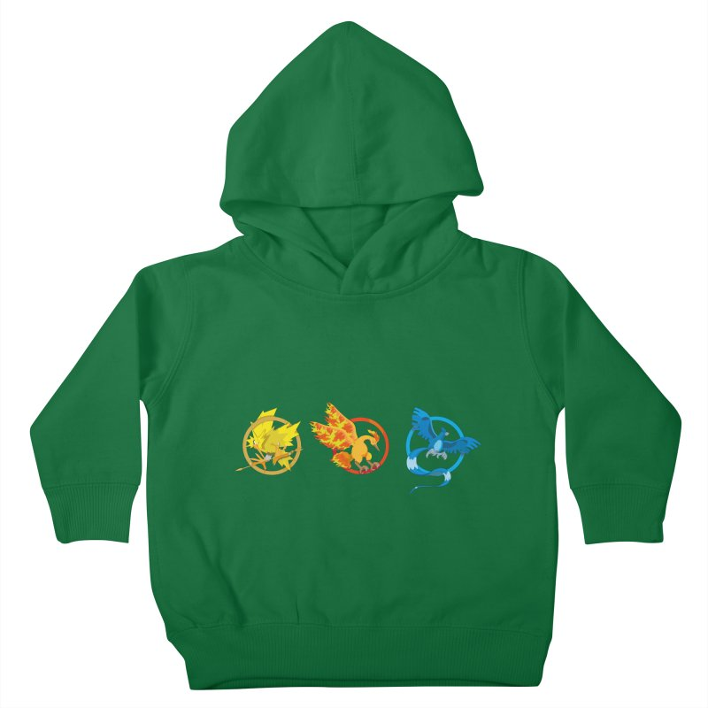 Hunger Games Catching Pokemon  Kids Toddler Pullover Hoody by VarieTeez Designs