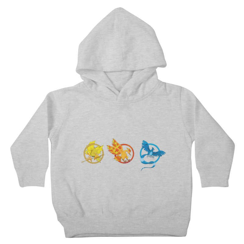 Hunger Games Catching Pokemon  Kids Toddler Pullover Hoody by VarieTeez's Artist Shop