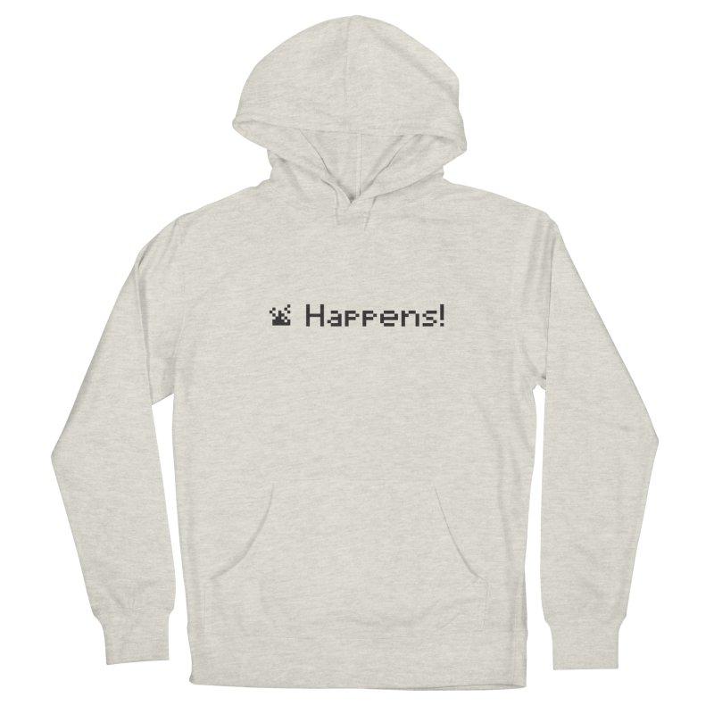 Shit happens! Men's Pullover Hoody by VarieTeez Designs