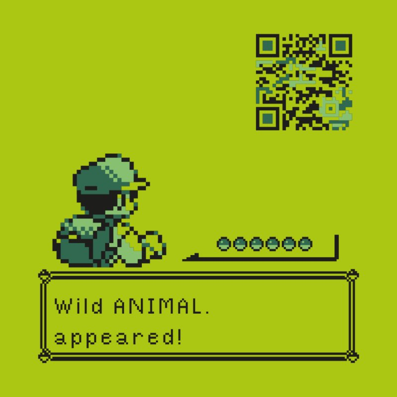 Wild animal appeared! by VarieTeez Designs