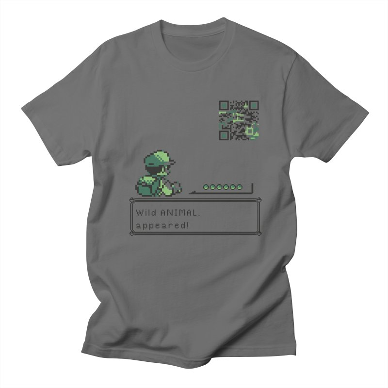 Wild animal appeared! Men's T-Shirt by VarieTeez Designs