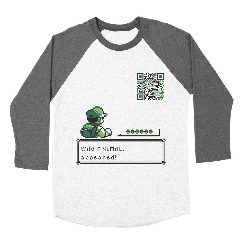 Wild animal appeared! Women's Longsleeve T-Shirt by VarieTeez Designs