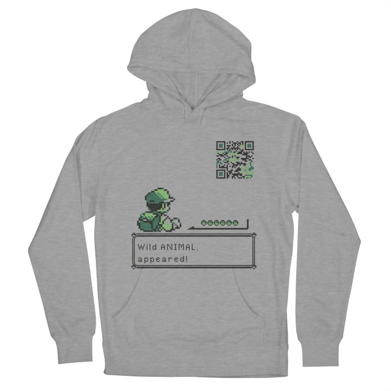Wild animal appeared! Men's Pullover Hoody by VarieTeez Designs