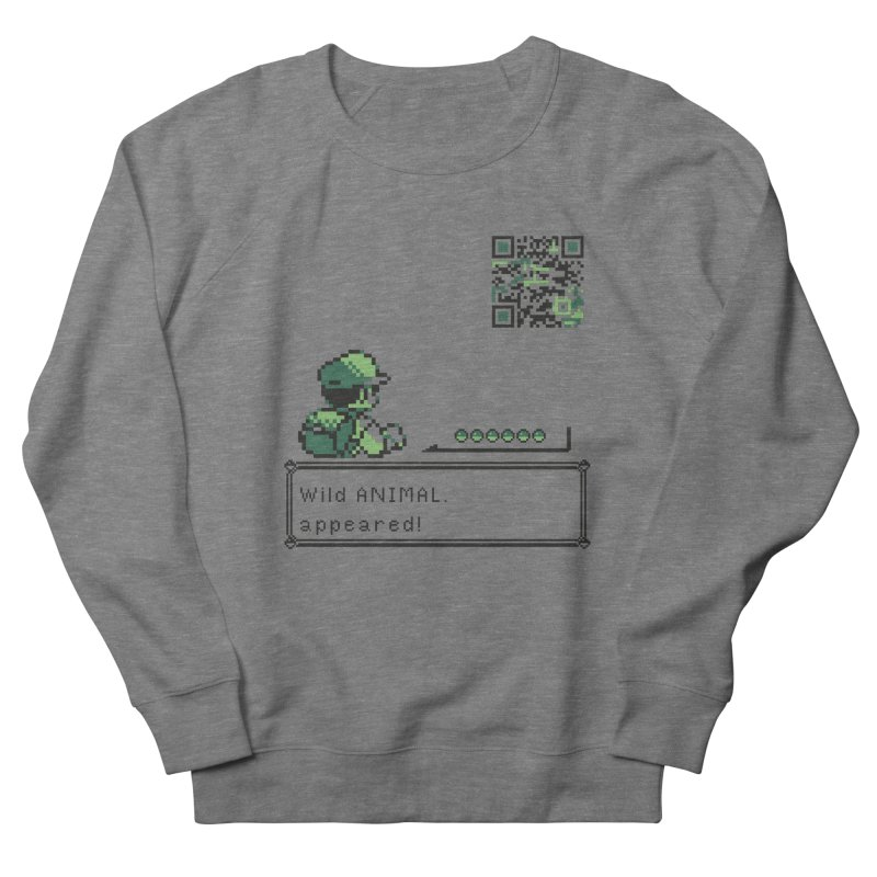Wild animal appeared! Women's Sweatshirt by VarieTeez Designs