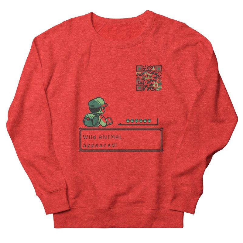 Wild animal appeared! Men's Sweatshirt by VarieTeez Designs