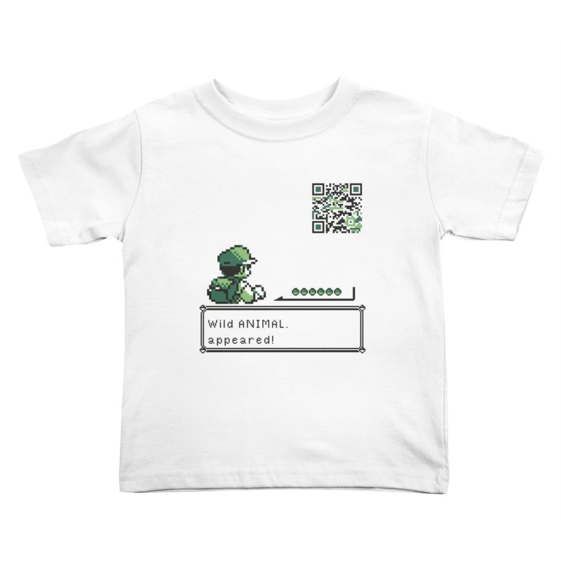 Wild animal appeared! Kids Toddler T-Shirt by VarieTeez Designs