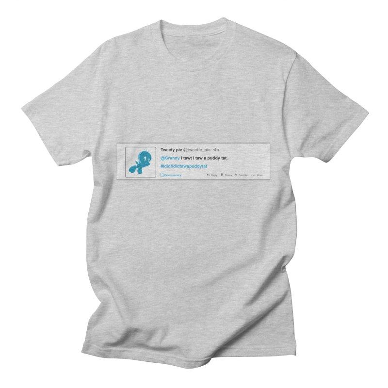 Twitter Pie Men's T-Shirt by VarieTeez Designs