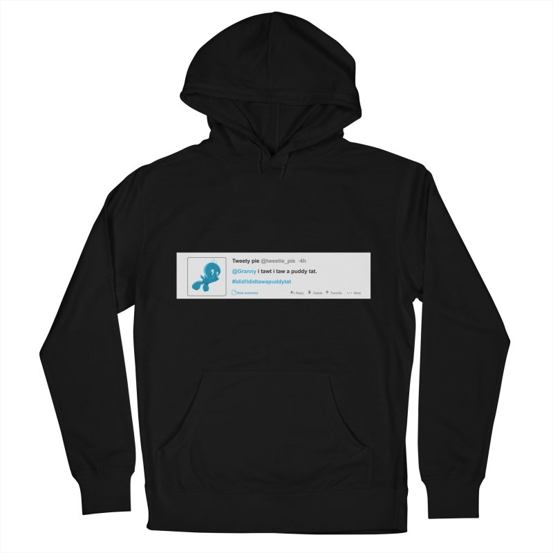 Twitter Pie Women's French Terry Pullover Hoody by VarieTeez Designs
