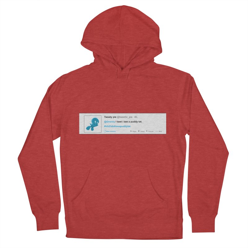 Twitter Pie Men's Pullover Hoody by VarieTeez Designs