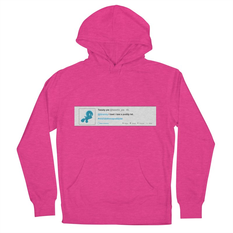Twitter Pie Men's French Terry Pullover Hoody by VarieTeez Designs