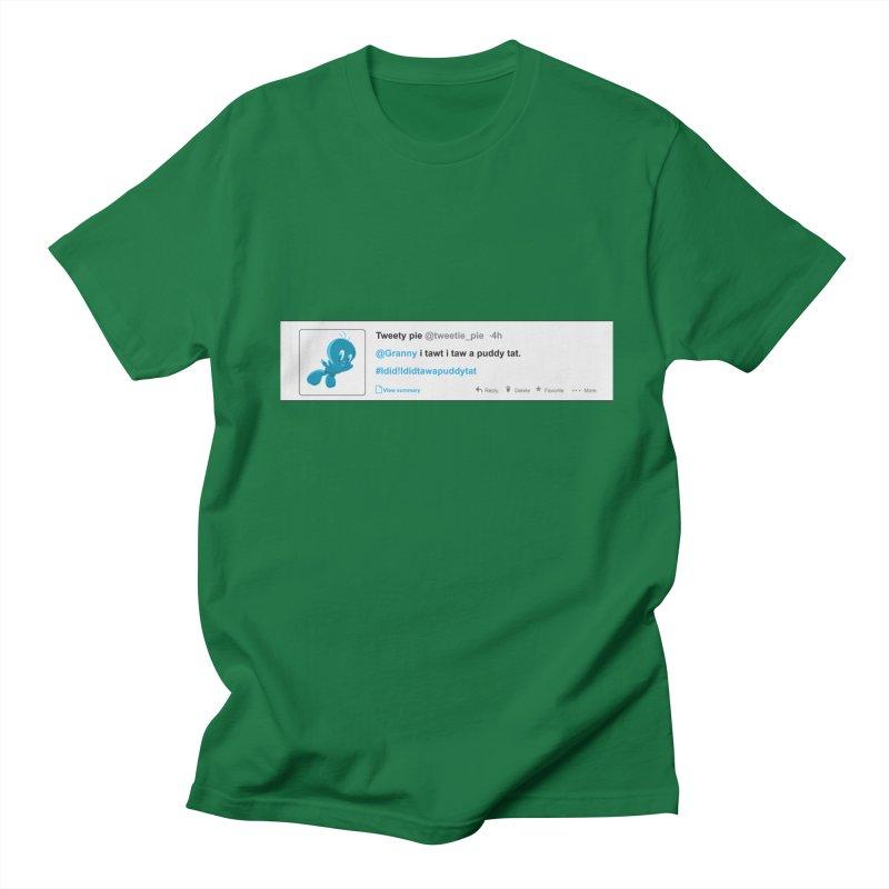 Twitter Pie Men's Regular T-Shirt by VarieTeez Designs