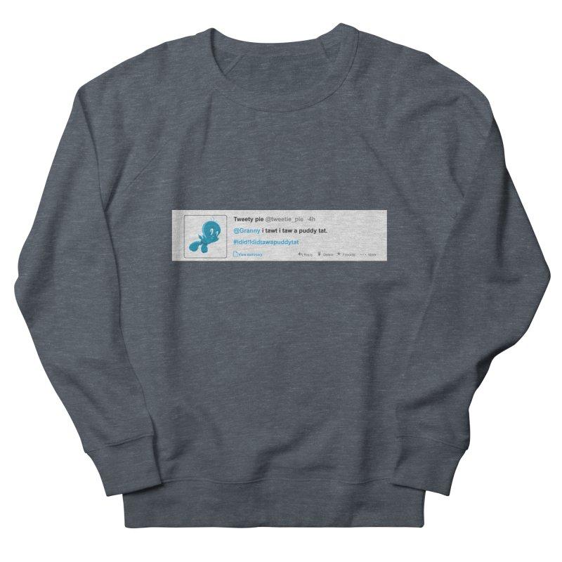 Twitter Pie Men's Sweatshirt by VarieTeez's Artist Shop