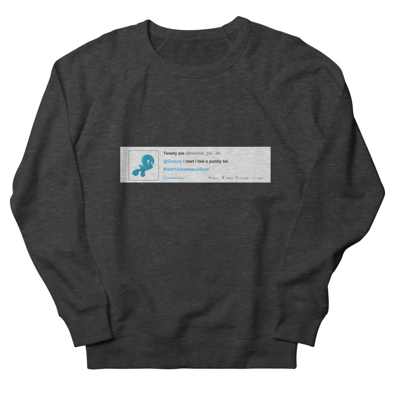 Twitter Pie Men's French Terry Sweatshirt by VarieTeez Designs