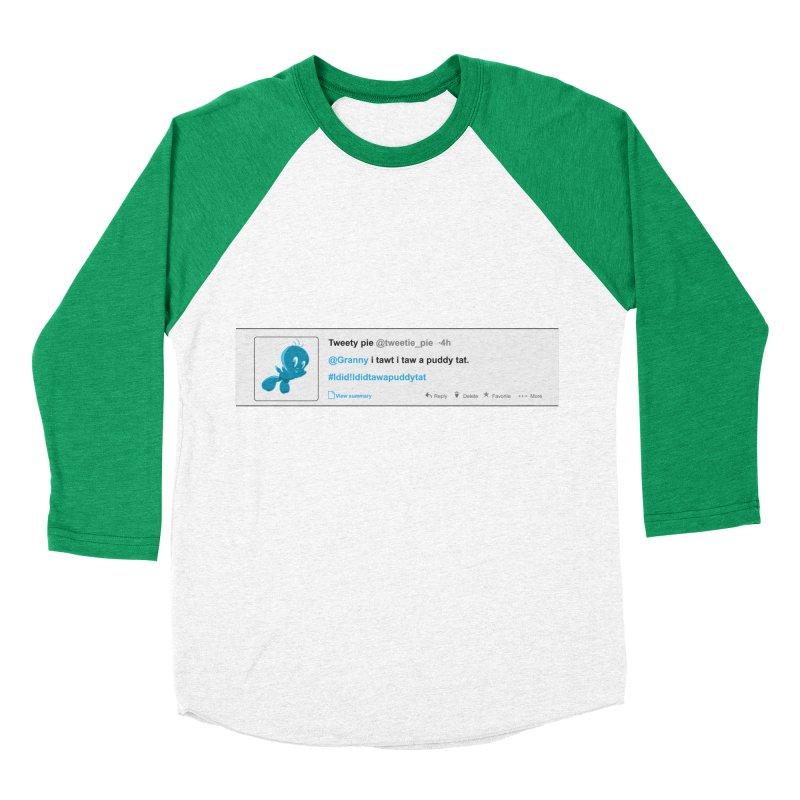 Twitter Pie Women's Baseball Triblend T-Shirt by VarieTeez's Artist Shop