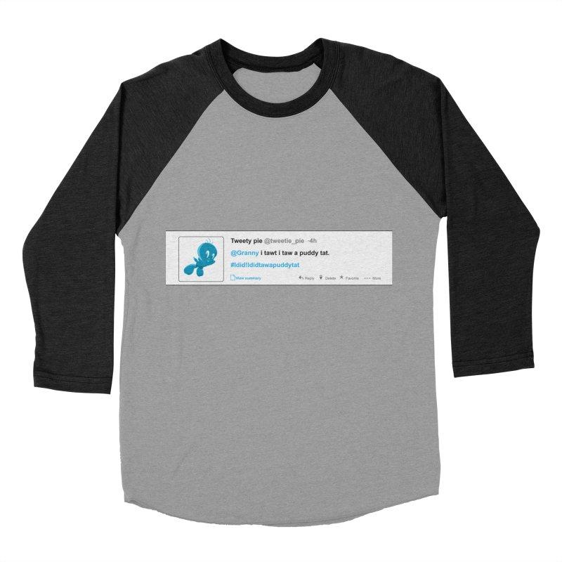Twitter Pie Men's Baseball Triblend T-Shirt by VarieTeez's Artist Shop