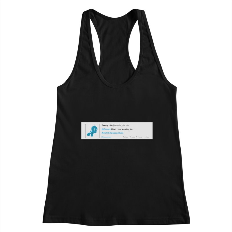 Twitter Pie Women's Tank by VarieTeez Designs