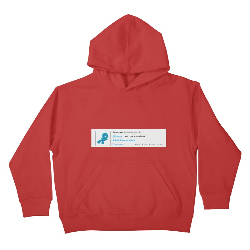 Twitter Pie Kids Pullover Hoody by VarieTeez Designs