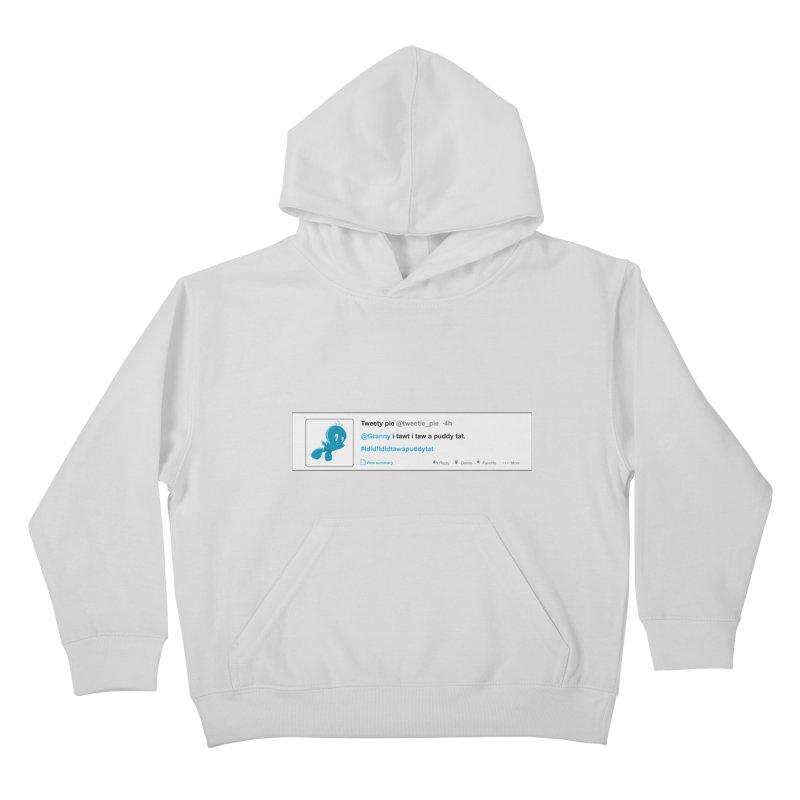 Twitter Pie Kids Pullover Hoody by VarieTeez Designs