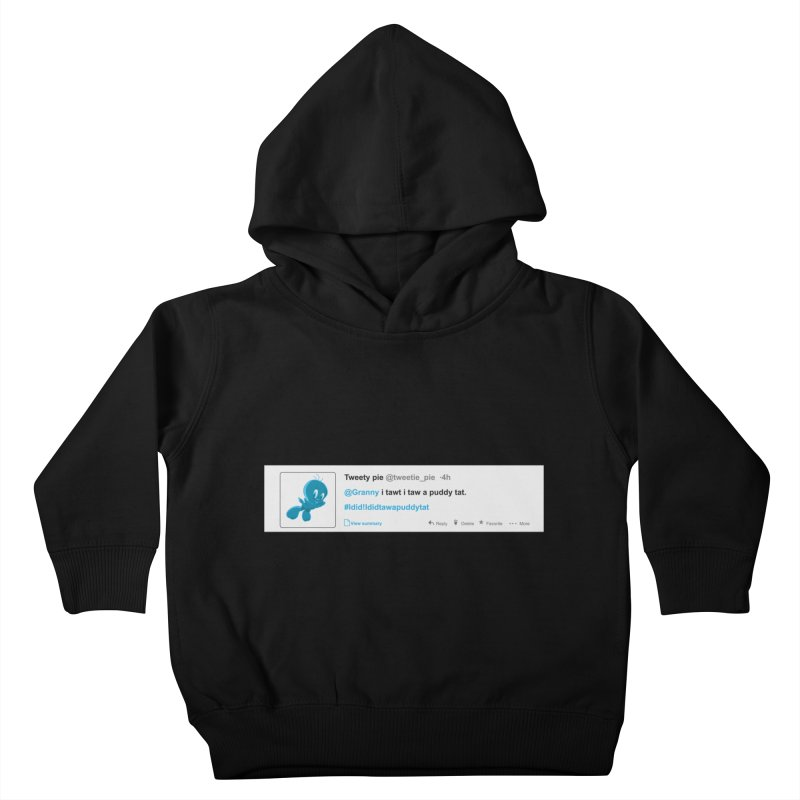 Twitter Pie Kids Toddler Pullover Hoody by VarieTeez Designs