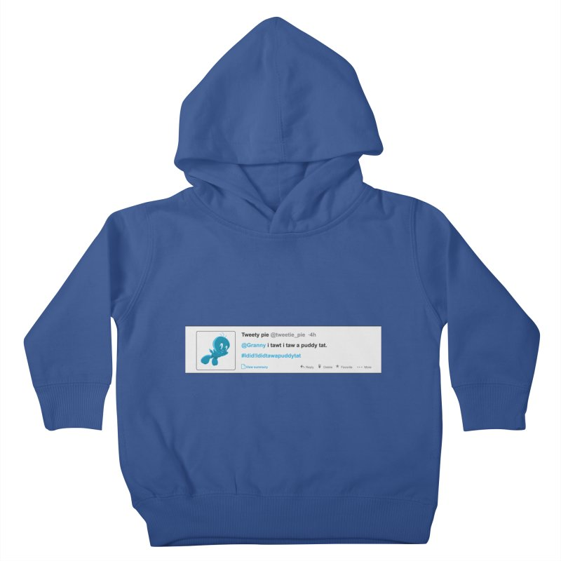 Twitter Pie Kids Toddler Pullover Hoody by VarieTeez's Artist Shop