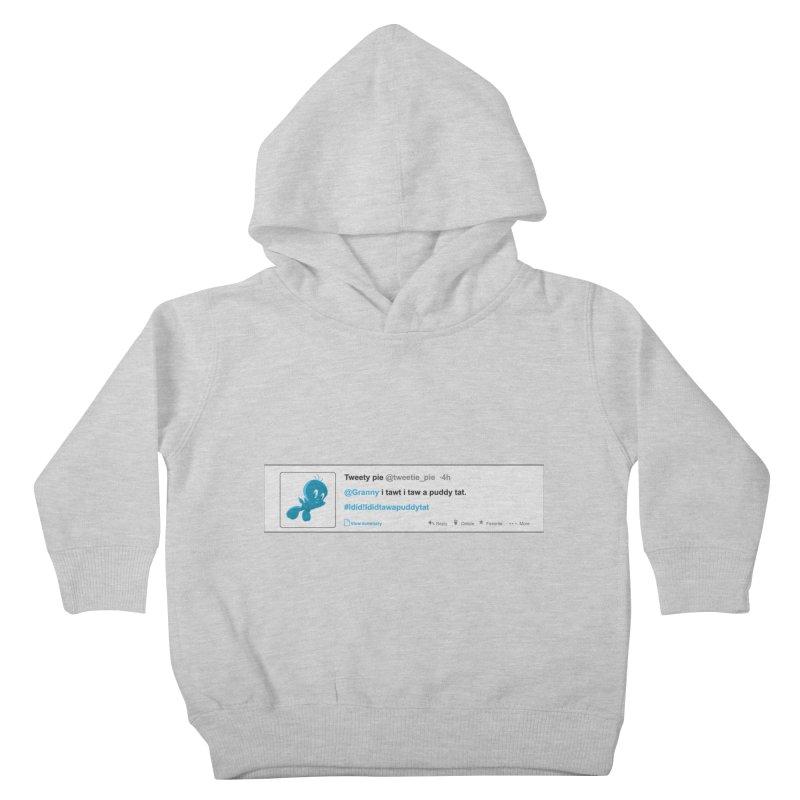 Twitter Pie Kids Toddler Pullover Hoody by VarieTeez Designs