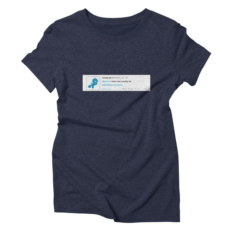 Twitter Pie Women's Triblend T-Shirt by VarieTeez Designs