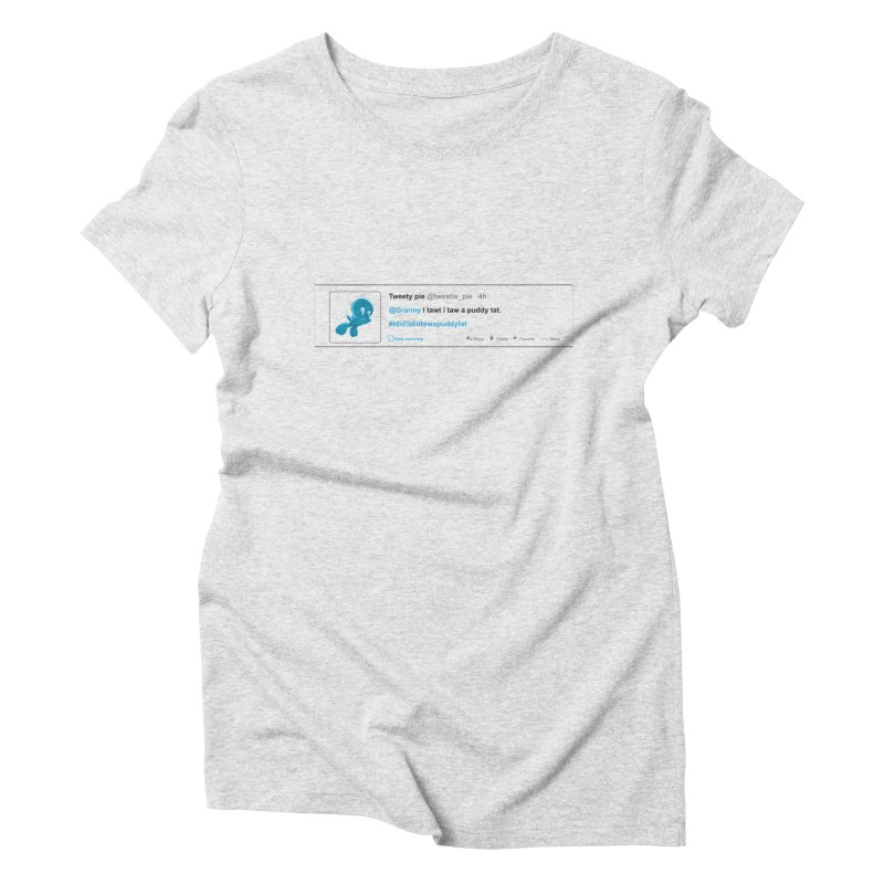 Twitter Pie Women's Triblend T-Shirt by VarieTeez Designs