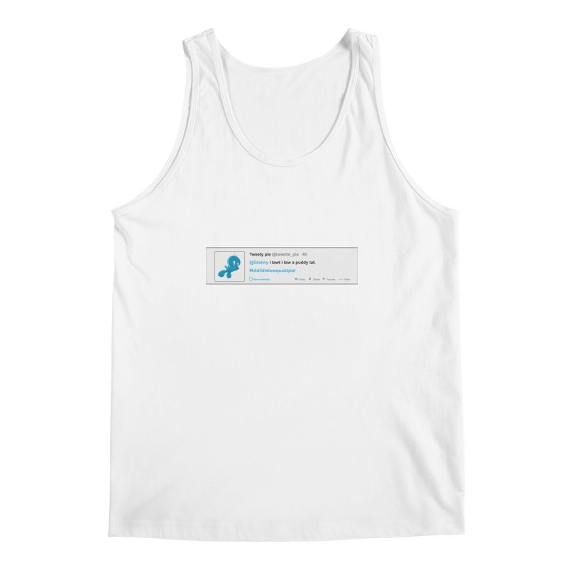 Twitter Pie Men's Tank by VarieTeez Designs