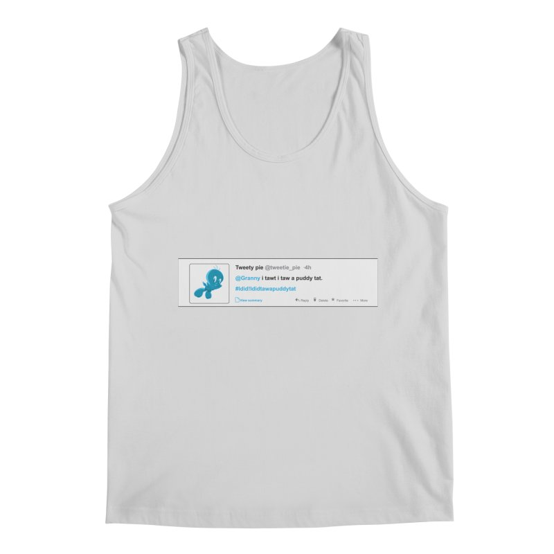 Twitter Pie Men's Regular Tank by VarieTeez Designs