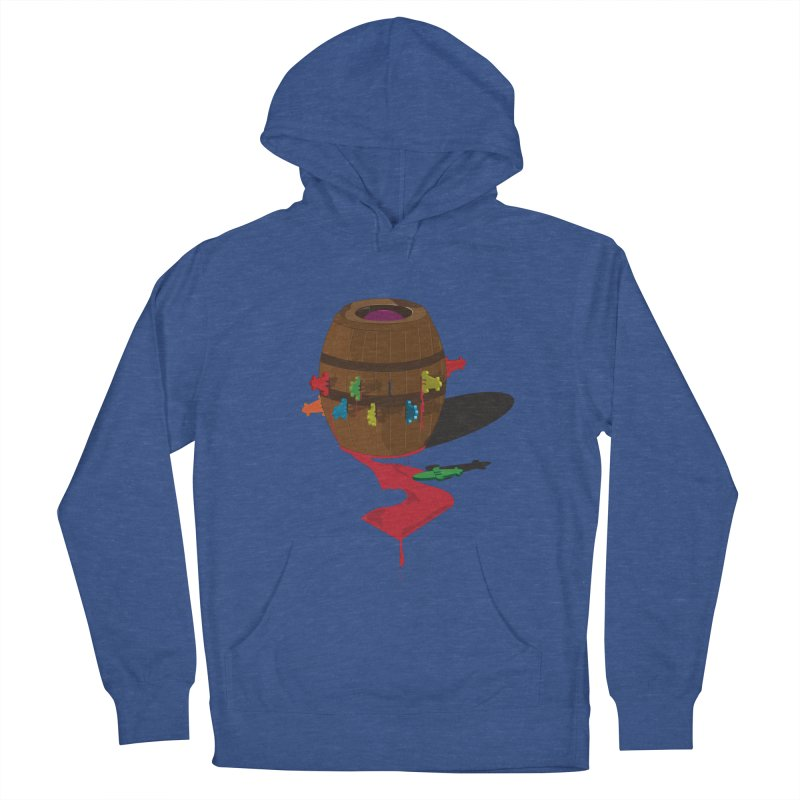 POP UP! Men's Pullover Hoody by VarieTeez Designs