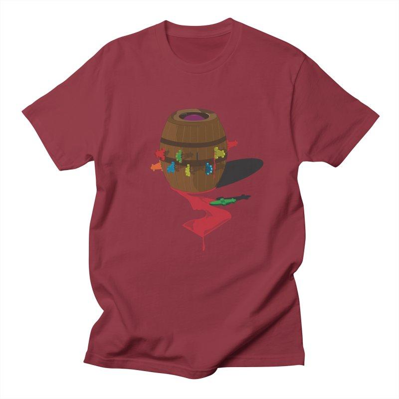 POP UP! Men's Regular T-Shirt by VarieTeez Designs