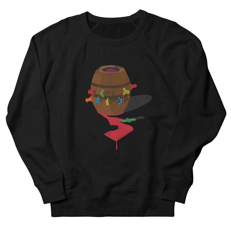 POP UP! Women's French Terry Sweatshirt by VarieTeez Designs