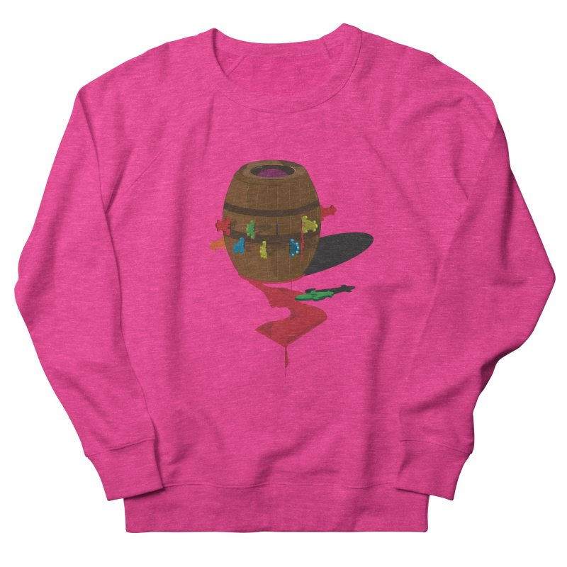 POP UP! Men's French Terry Sweatshirt by VarieTeez Designs