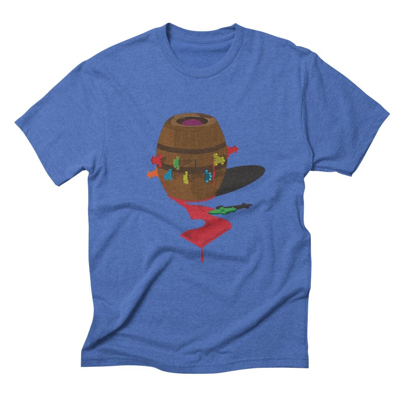 POP UP! Men's Triblend T-shirt by VarieTeez Designs