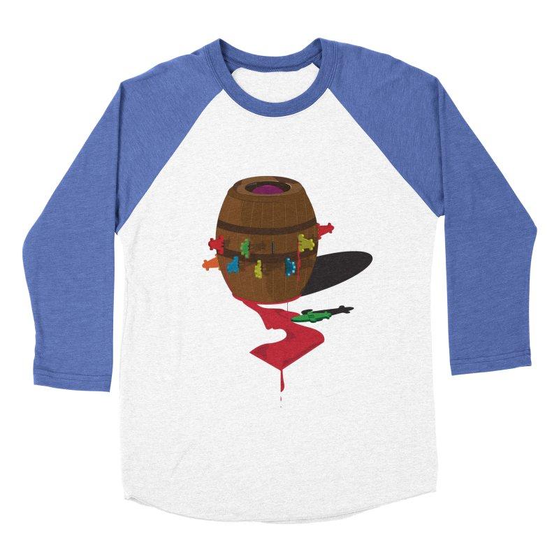 POP UP! Women's Baseball Triblend T-Shirt by VarieTeez Designs
