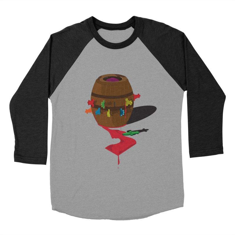 POP UP! Women's Baseball Triblend Longsleeve T-Shirt by VarieTeez Designs