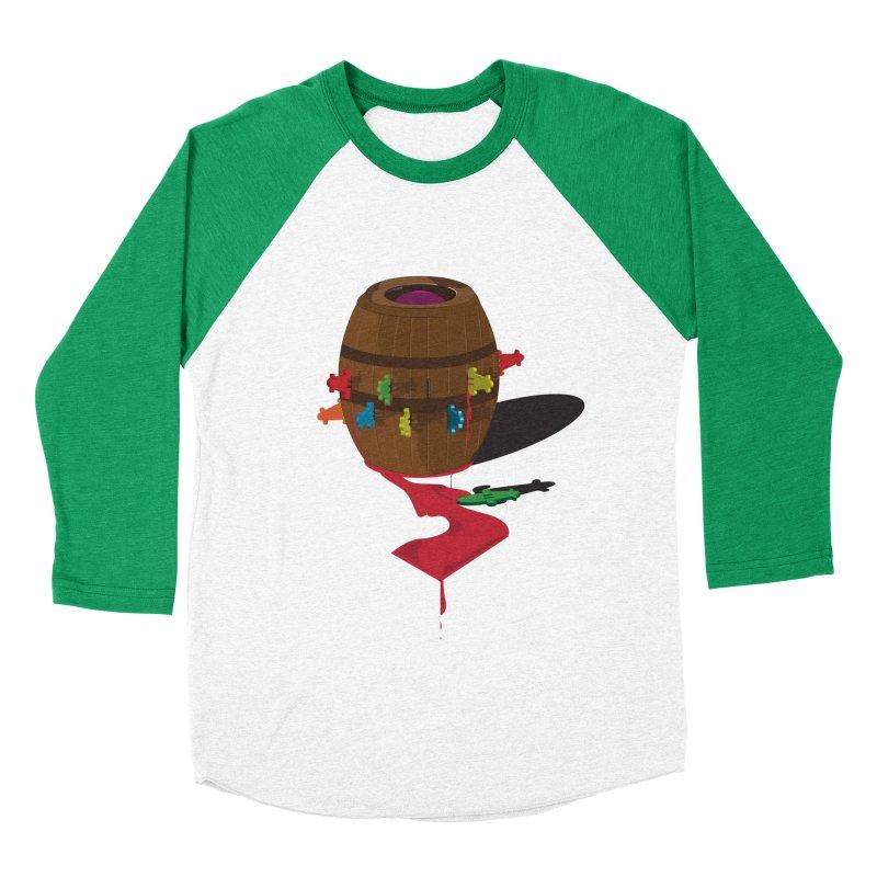 POP UP! Men's Baseball Triblend T-Shirt by VarieTeez's Artist Shop