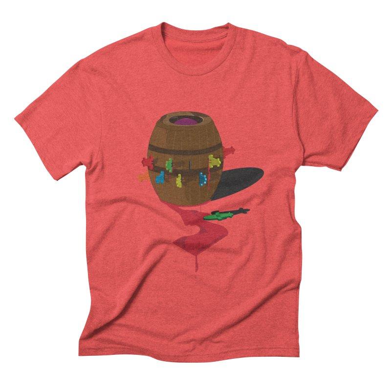 POP UP! Men's Triblend T-shirt by VarieTeez's Artist Shop