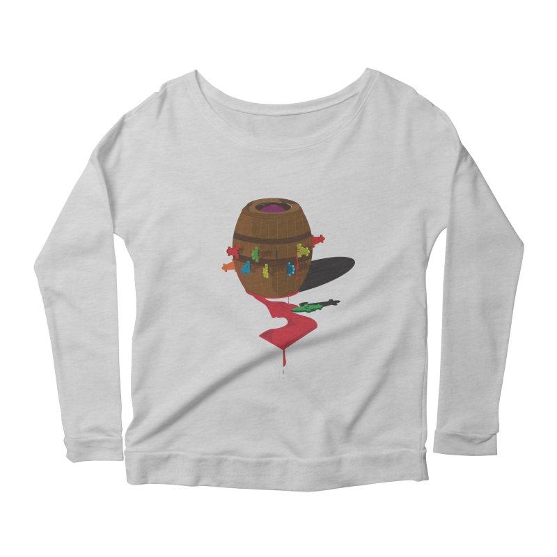 POP UP! Women's Scoop Neck Longsleeve T-Shirt by VarieTeez Designs