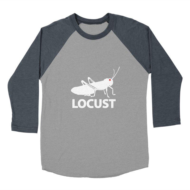 LOCUST Women's Baseball Triblend T-Shirt by VarieTeez Designs