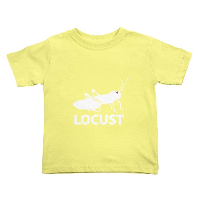 LOCUST Kids Toddler T-Shirt by VarieTeez Designs