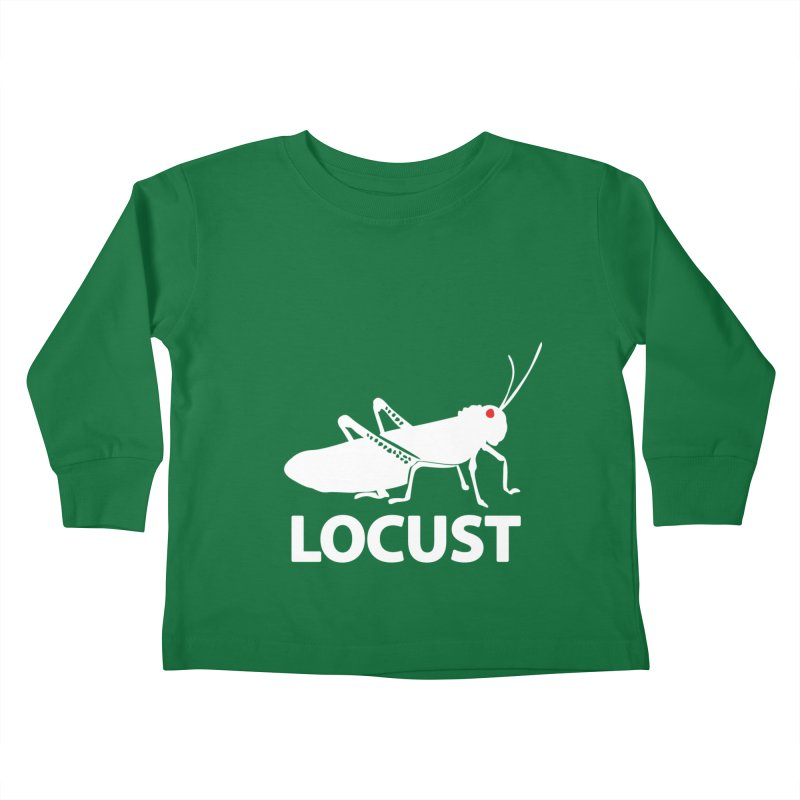 LOCUST Kids Toddler Longsleeve T-Shirt by VarieTeez Designs