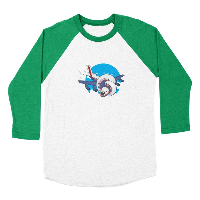 AIRPLANES! Women's Longsleeve T-Shirt by VarieTeez Designs
