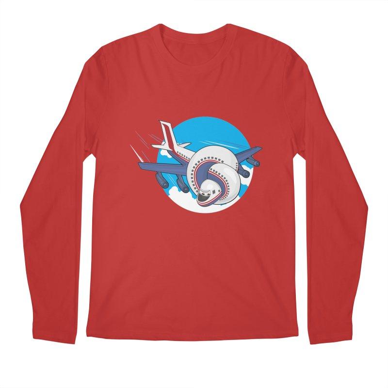 AIRPLANES! Men's Regular Longsleeve T-Shirt by VarieTeez Designs