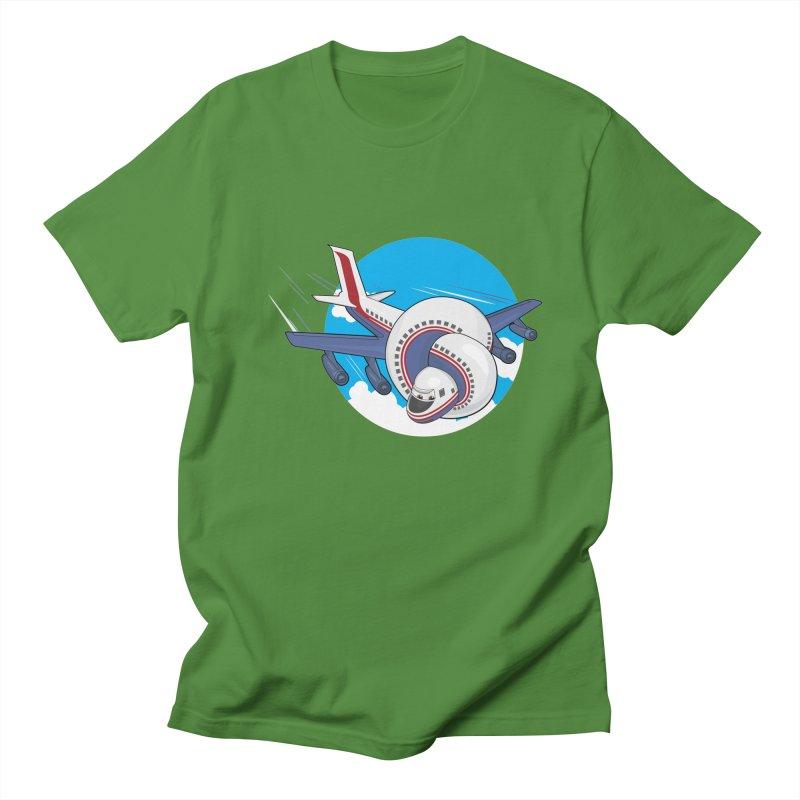 AIRPLANES! Men's Regular T-Shirt by VarieTeez Designs
